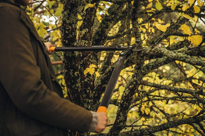 Le coupe-branches à lames franches L78 de Fiskars
